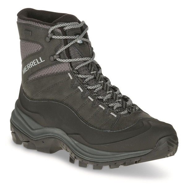 Merrell Thermo Chill Mid Mens Boots Black