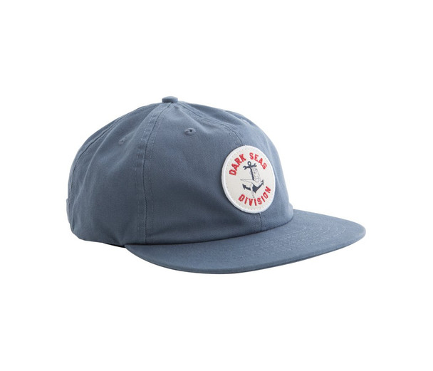 Dark Seas Vaughn Hat Slate Snapback