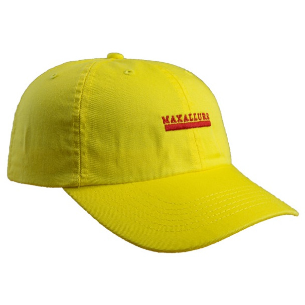 f8e3de8e8 Maxallure Dad Hat Yellow Slide Back