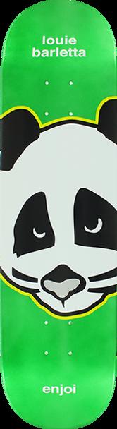 ENJOI BARLETTA KISS METALLIC SKATE DECK-7.75 r7 GREEN w/ MOB GRIP
