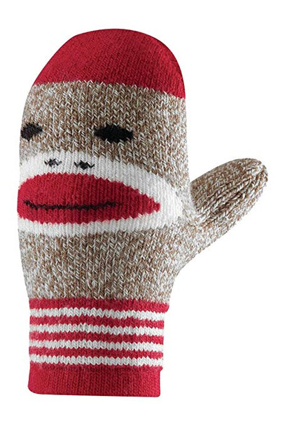 Fox River Monkey Mittens Rockford Red Adult OneSize