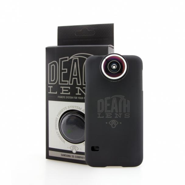DeathLens Fisheye Galaxy S7 Black OneSize