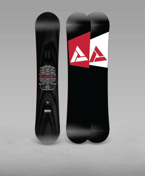 Academy Team Snowboard 2019 Black 156