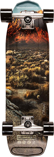 ALUMINATI BISHOP HIGGS SKATEBOARD COMPLETE-8.12x28