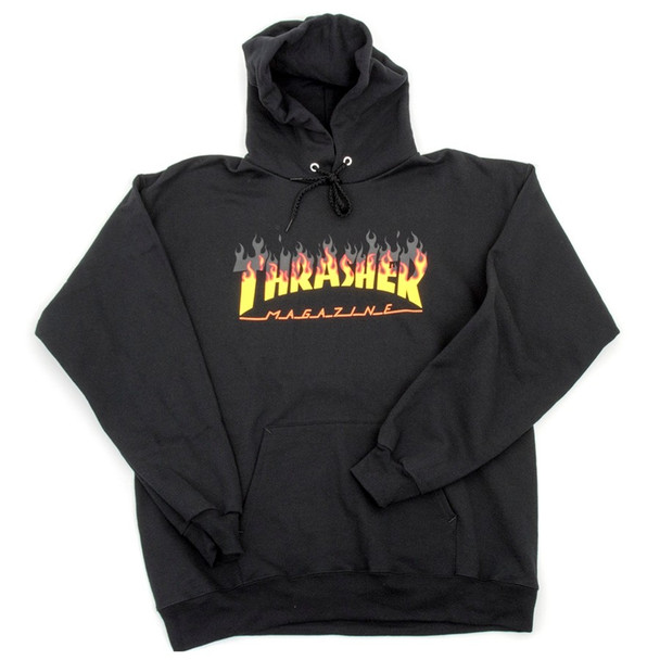 Thrasher BBQ Hoodie Black