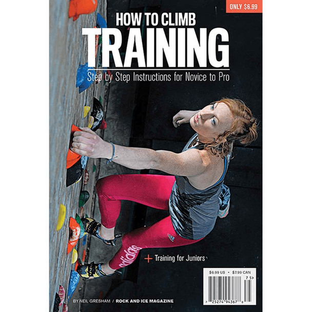 Rock & Ice: How to Climb Training Black Onesize