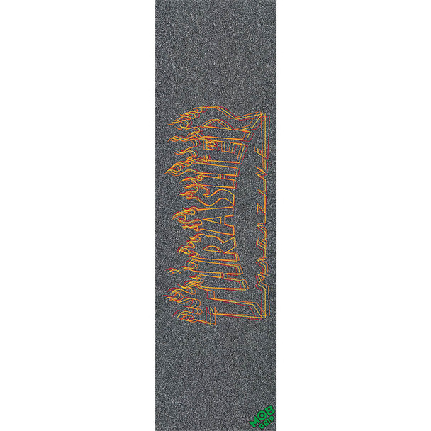 THRASHER x MOB Richter Grip Tape Black Orange 9x33