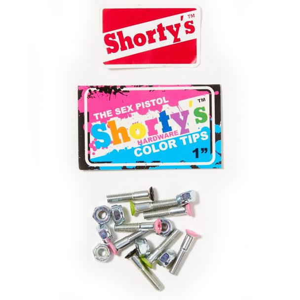 "Shortys Sex Pistol Hardware Color Tips 1"""