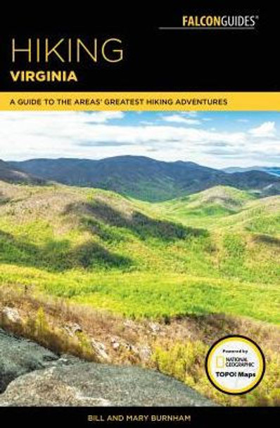 Hiking Virginia 3rd Edition Yellow Onesize