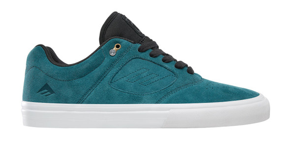 Emerica Reynolds 3 G6 Vulc Skate Shoes Teal Black