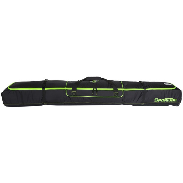 Sportube Ski Shield Double Bag Black Green OneSize