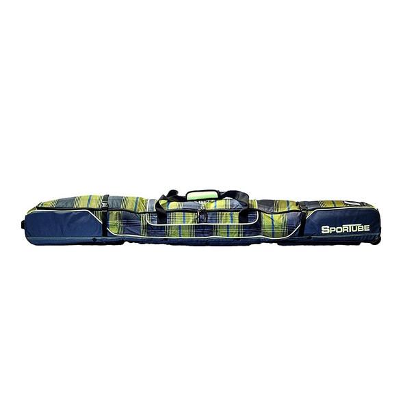 Sportube Ski Shield Double Bag Plaid Yellow OneSize