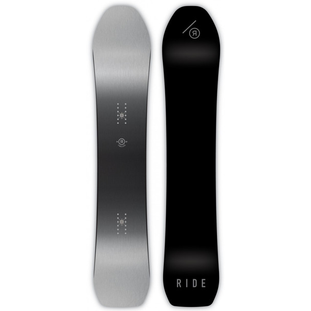 Ride Timeless Snowboard Black Fade 158