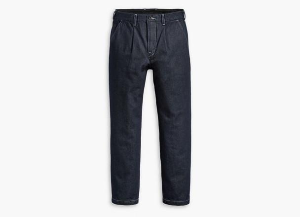 Levis Skate Pleated Trousers Mens Indigo Warp