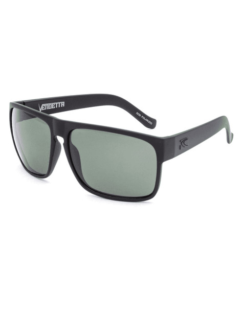Carve Vendetta Floatable Sunglasses Matte Black Polarized