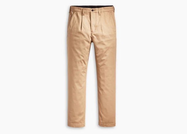 Levis Skate Pleated Trousers Mens Harvest Gold