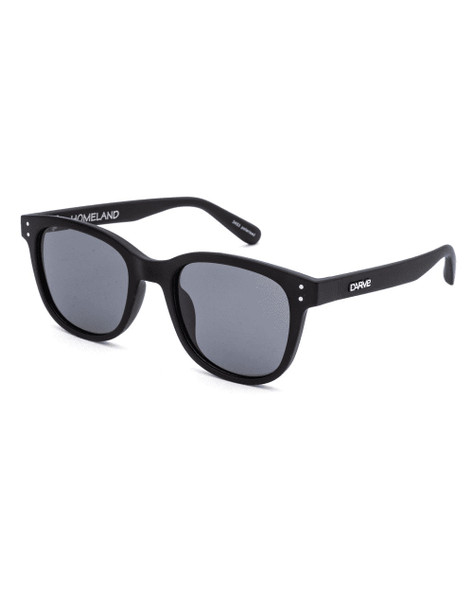 Carve Homeland Sunglasses Matte Black Polarized