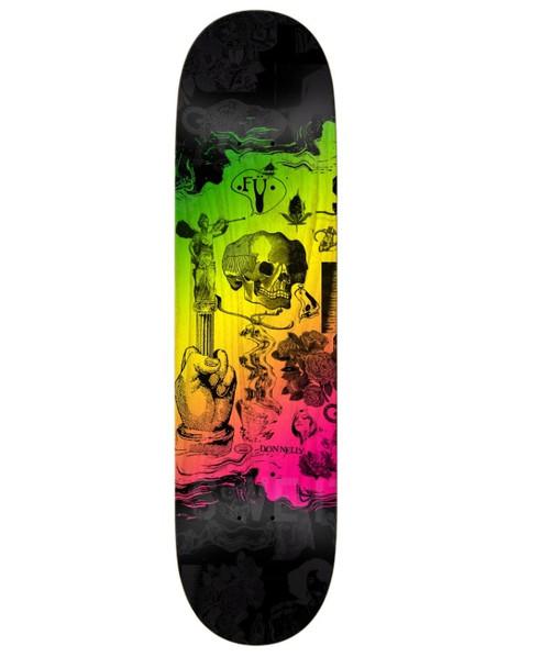 Real Donnelly Dad FU Skate Deck Black 8.38 w/ MOB Grip