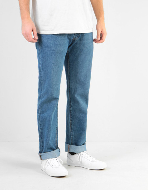 Levis 501 Skate Denim Mens STF Willow