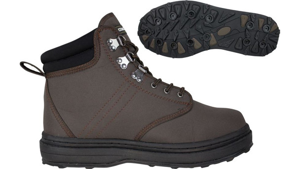Compass 360 Stillwater Cleat Wading Sh Brown 14