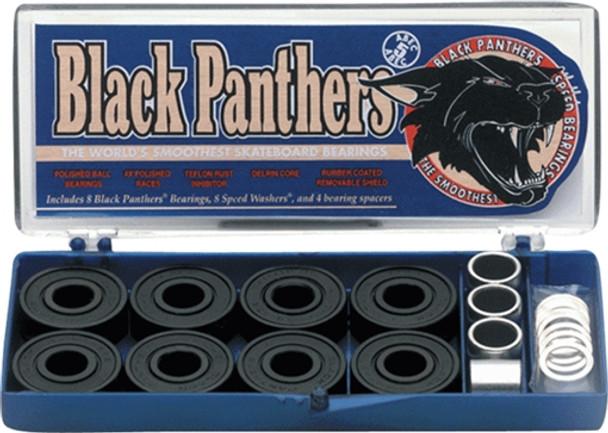 SHORTYS BLACK PANTHERS ABEC-5 single set