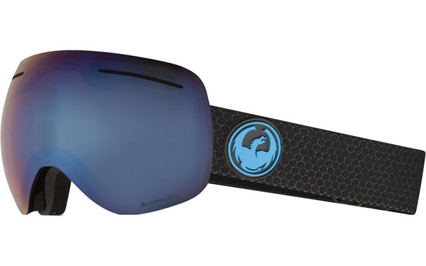 Dragon X1s Snow Goggles Split Blue Ion Amber