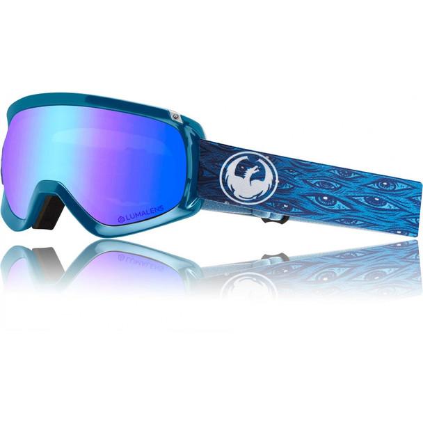 Dragon D3 OTG Snow Goggles Midnight Blue ION Amber