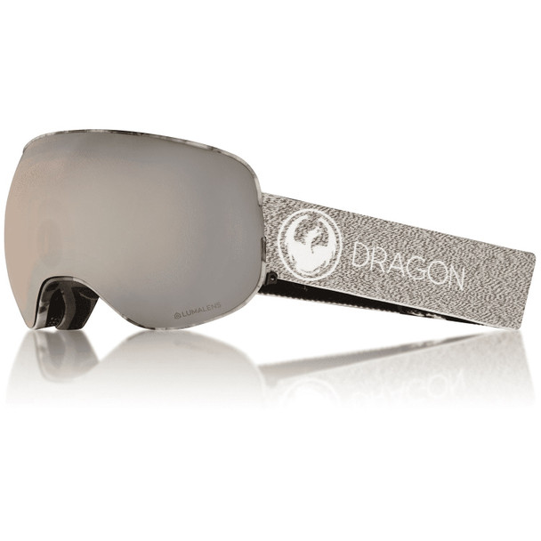 Dragon X2 Four Snow Goggles Miller Silver ION Dark Smoke