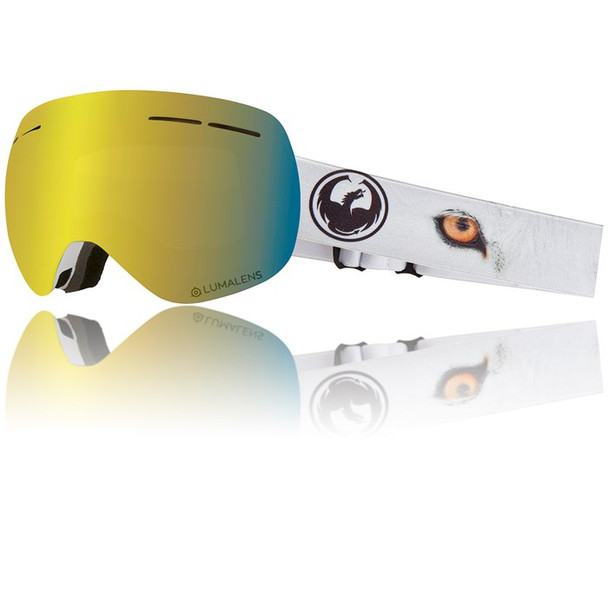 Dragon X1s Snow Goggles Prey Gold Ion Amber