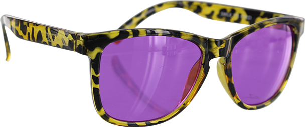 HAPPY HOUR MAMBA SUNGLASSES PICADILLY/PURPLE