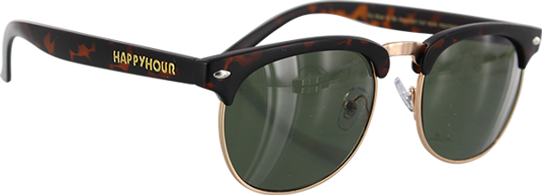 HAPPY HOUR G2 SUNGLASSES FROSTED TORT