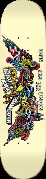 ANTI HERO DAAN WE FLY SKATE DECK-8.06 w/ MOB GRIP