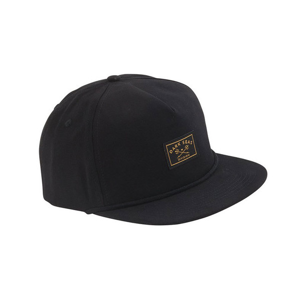 Dark Seas Freighter Hat Black Snapback