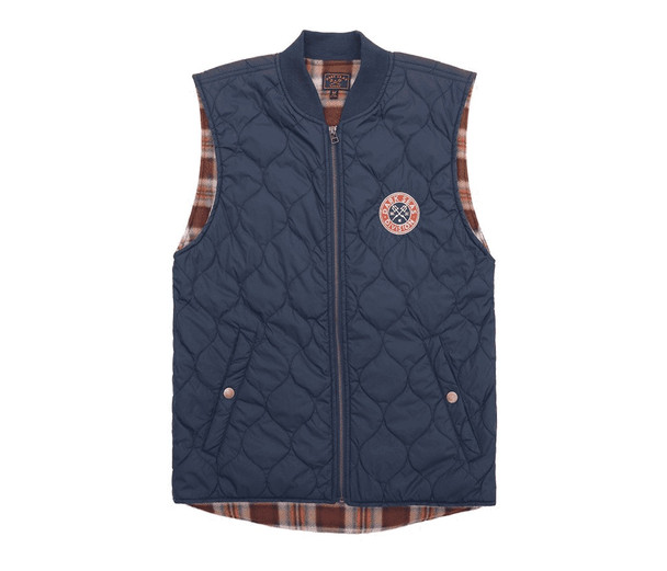 Dark Seas Ramon II Vest Dark Navy