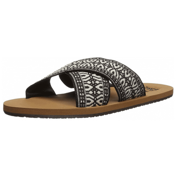 Billabong Surf Bandit Sandals Womens Black White