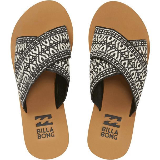 Billabong Surf Bandit Sandals Womens Black White