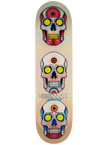 Santa Cruz Remillard Power Of Three Skate Deck Natural 8.25 w/ MOB Grip