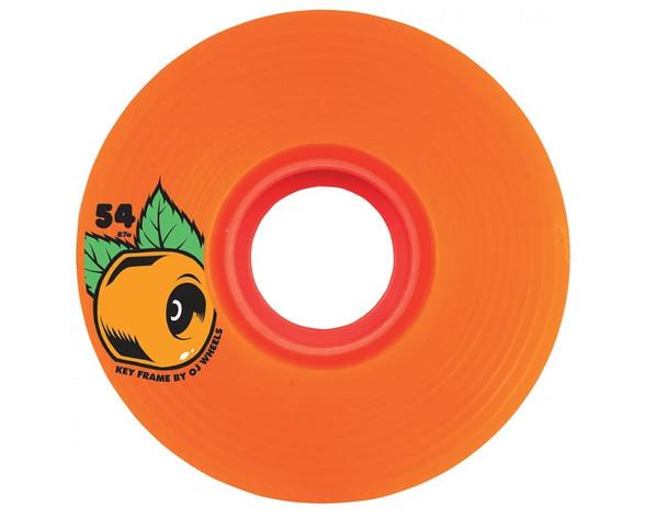 OJ Keyframe Wheels Set Orange 54mm/87a