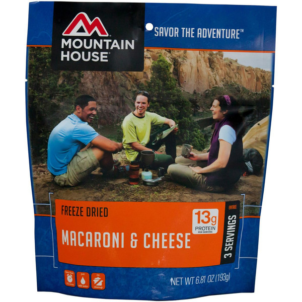 Mountain House Freeze Dried Mac & Cheese Yellow Onesize