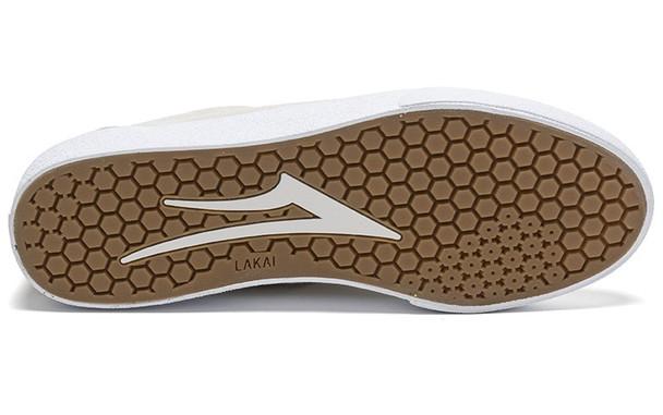 Lakai Bristol Shoes White Gold