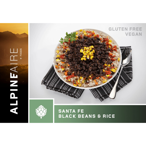 AlpineAire Santa Fe Black Beans Brown Onesize