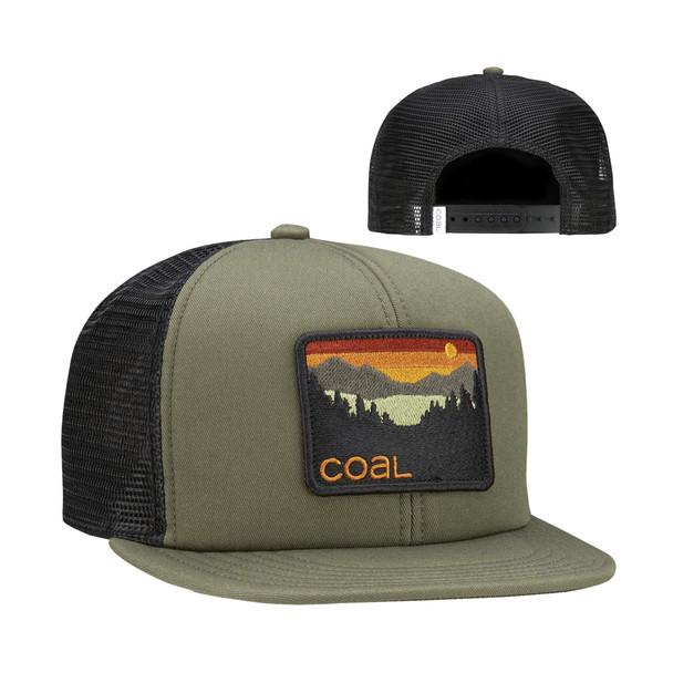 Coal Hauler Hat Olive Adjustable