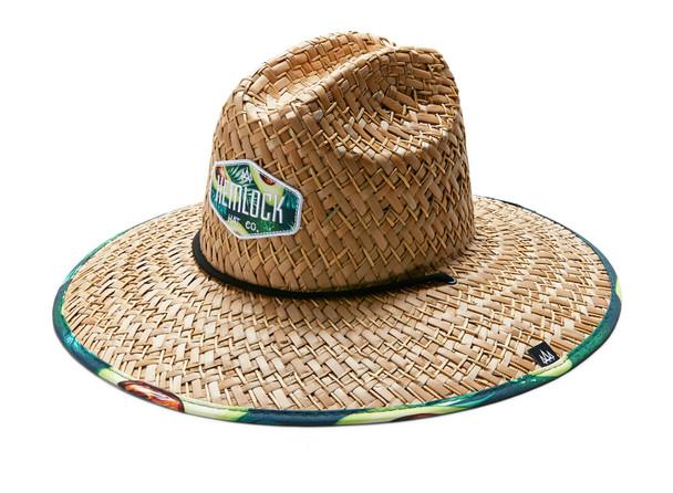 Hemlock Big Hoss Hat Avacado Print OneSize
