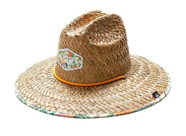 Hemlock Chunk Hat Pineapple Print OneSize