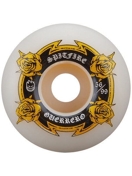 Spitfire Guerrero Lifer Wheels Set White Yellow 56mm/99a