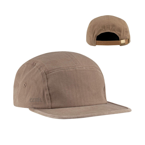 Coal Edison Hat Light Brown Adjustable