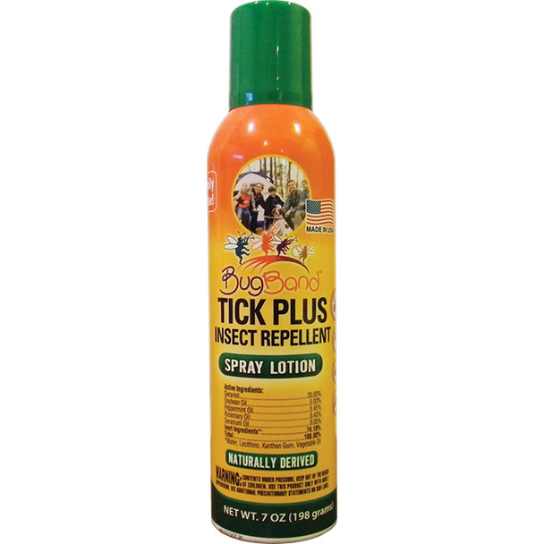 Bug Band Tick Plus Repellent Aersol OneSize