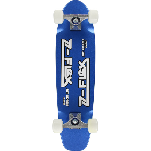 ZFLEX Jay Adams Cruiser Skateboard Complete Blue Flake