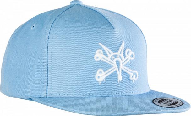 Powell Vato Rat Hat Powder Blue Snapback