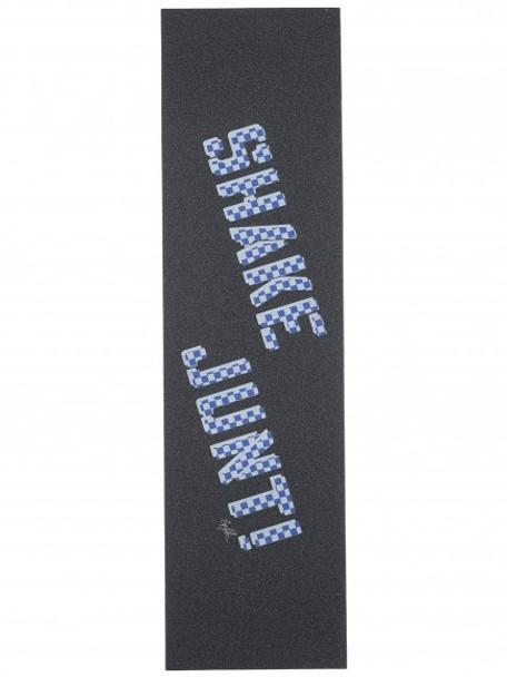 Shake Junt Hamilton Logo Grip Tape Checkered Black Purple 9x33